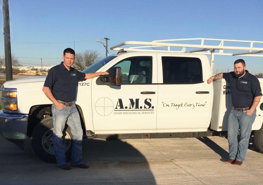 A.M.S. Mechanical Work Truck